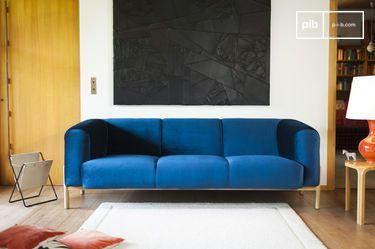 Grande divano in velluto Viela