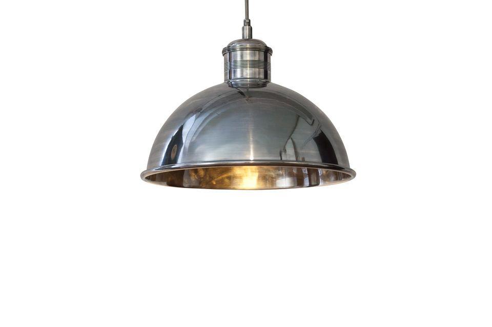 Superba lampada a sospensione  dal diametro di 40 cm in stile retro-chic