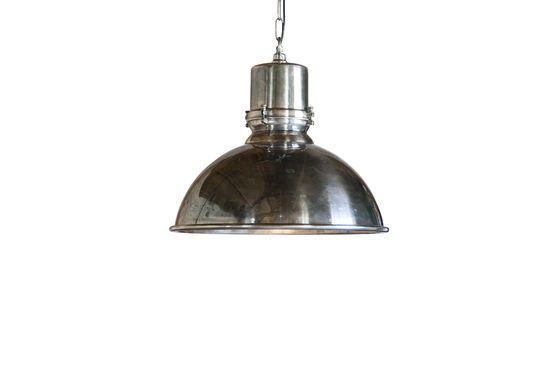 Grande lampadario argentato Lynce Foto ritagliata