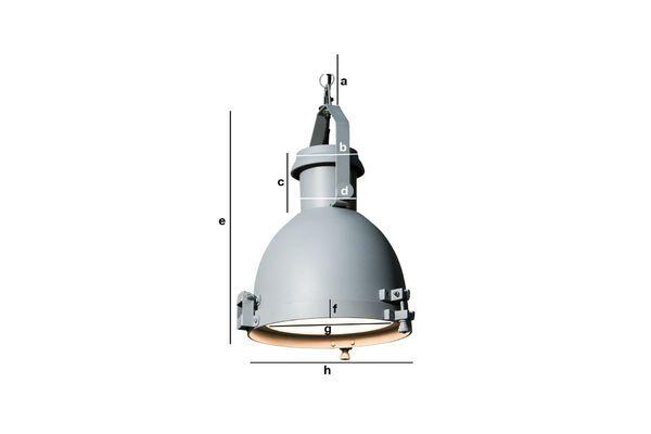 Dimensioni del prodotto Grande Lampadario Spitzmüller
