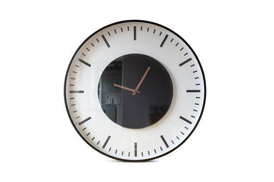 Grande orologio della stazione di Amsterdam Foto ritagliata