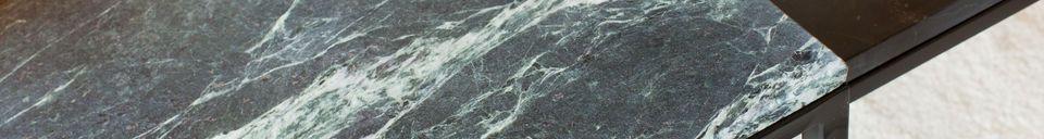 Materiali prima di tutto Grande tavolino in marmo verde Avedore