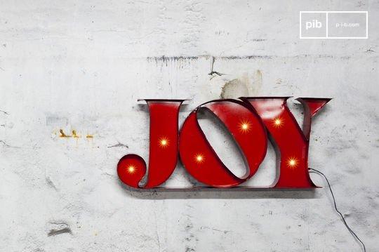 Insegna Luminosa Joy