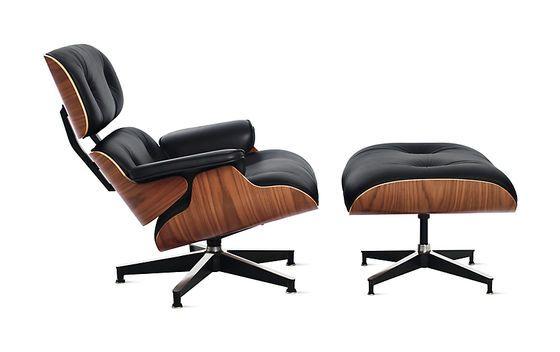 La Eames Lounge Chair e l'ottomano