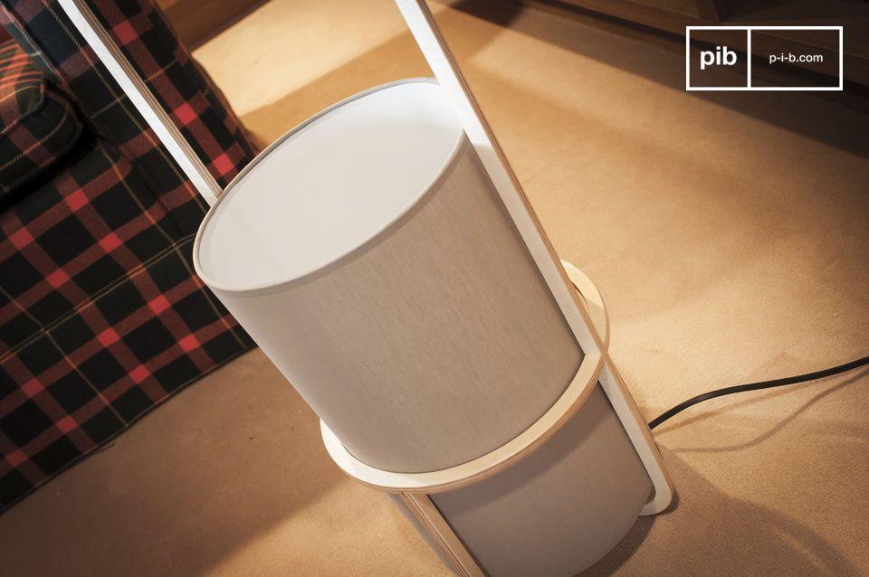 Un piccolo capolavoro di lampada dal design delicato