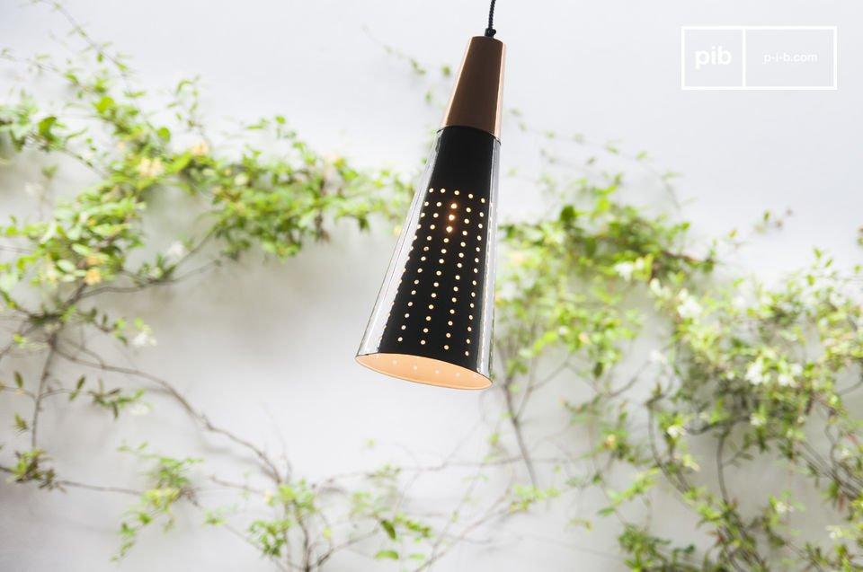 Una lampada originale per una illuminazione leggera