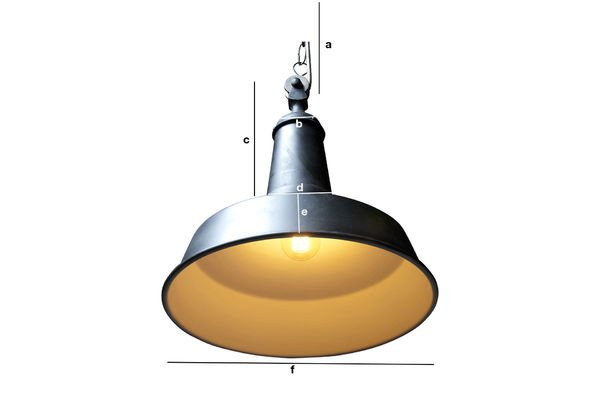 Dimensioni del prodotto Lampada a sospensione Black Factory