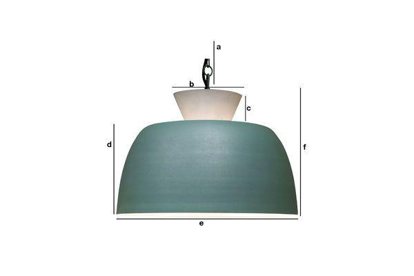 Dimensioni del prodotto Lampada a sospensione design Zermatt