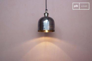 Lampada a sospensione in nichel Warhead