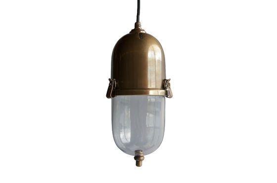 Lampada a sospensione in ottone Kapsula Foto ritagliata