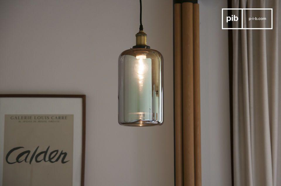 Lampade In Vetro A Sospensione : Lampada a sospensione in vetro elixir tessile intrecciato pib