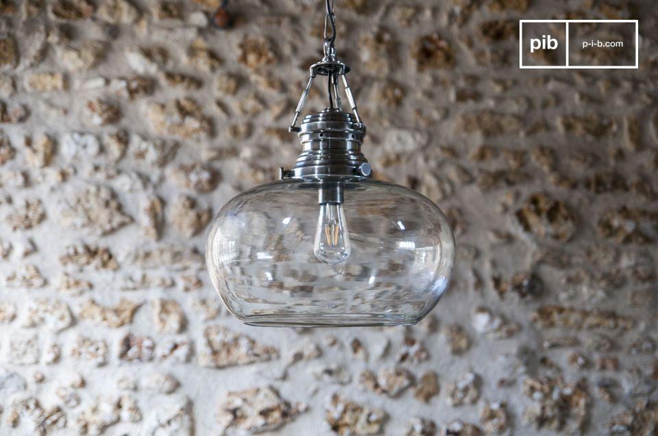 Lampade In Vetro A Sospensione : Lampada a sospensione in vetro hoonui ottone bohémien armonia pib