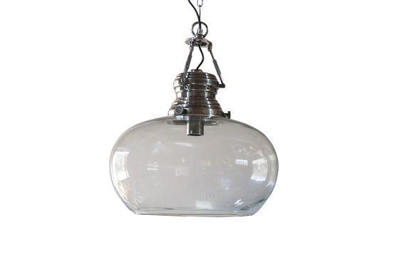 Lampada a sospensione in vetro Hoonui Foto ritagliata