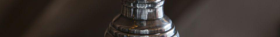 Materiali prima di tutto Lampada a sospensione in vetro Sweet Bell