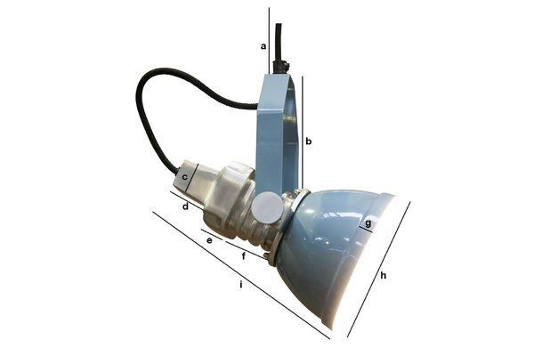 Dimensioni del prodotto Lampada a sospensione Sogelys