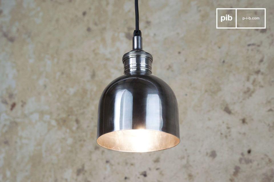 Lampada Argentata Brillante