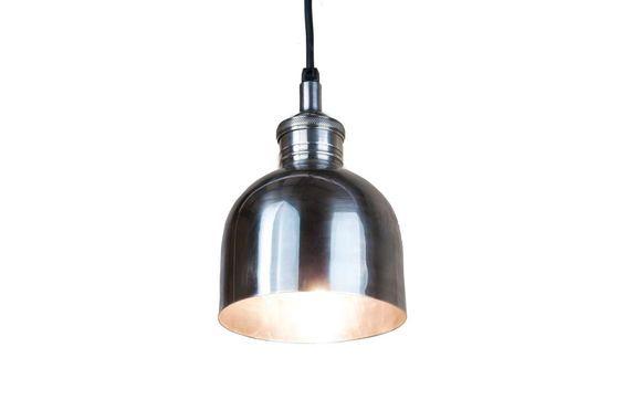 Lampada Argentata Brillante Foto ritagliata