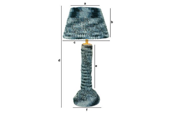 Dimensioni del prodotto Lampada Asatöri