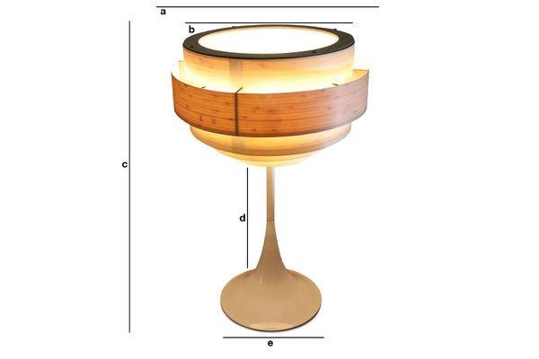 Dimensioni del prodotto Lampada Boréal