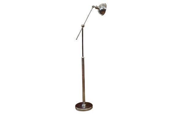 Lampada da lettura orientabile in metallo Foto ritagliata