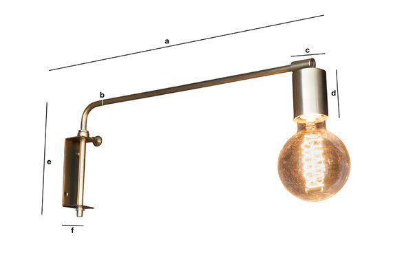 Dimensioni del prodotto Lampada da muro Janika