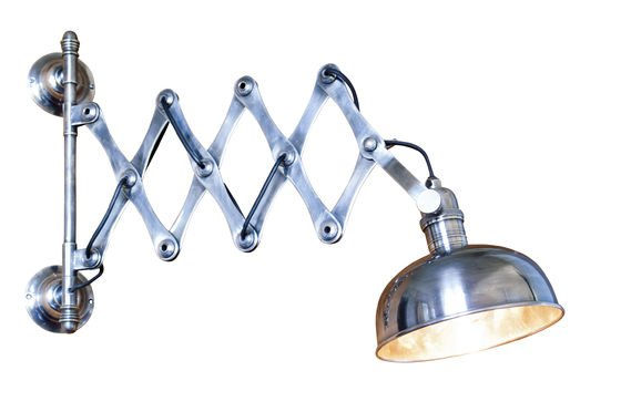 Lampada da parete a forbice Foto ritagliata