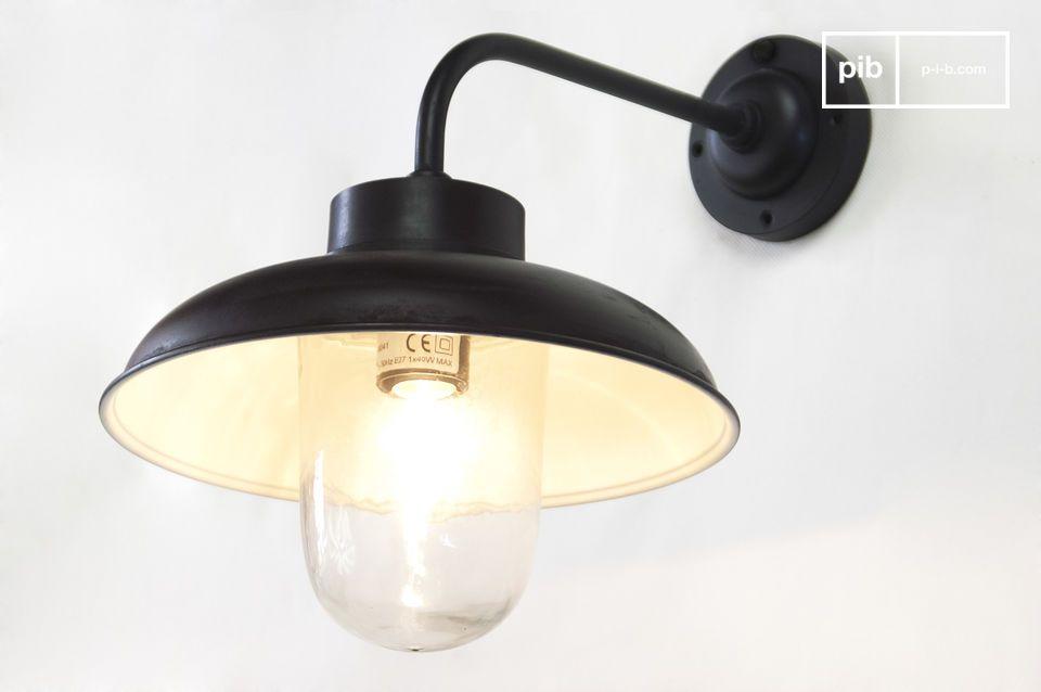 Lampada da parete ad angolo lampada da parete retro pib