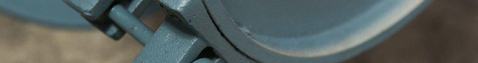 Materiali prima di tutto Lampada da parete blu petrolio Spitzmüller