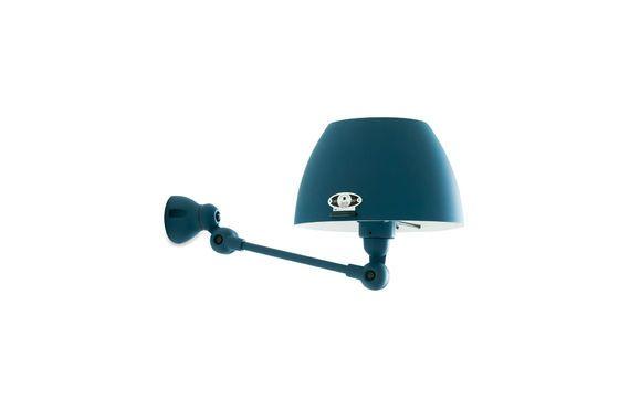 Lampada da parete Jieldé Aicler blu oceano Foto ritagliata