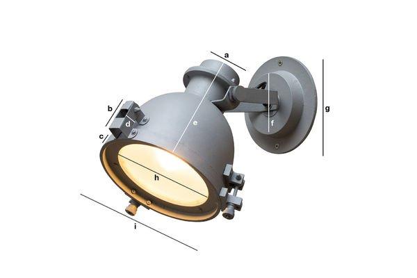 Dimensioni del prodotto Lampada da parete  Spitzmüller