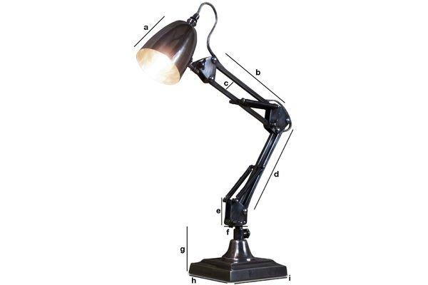 Dimensioni del prodotto Lampada da scrivania 1957