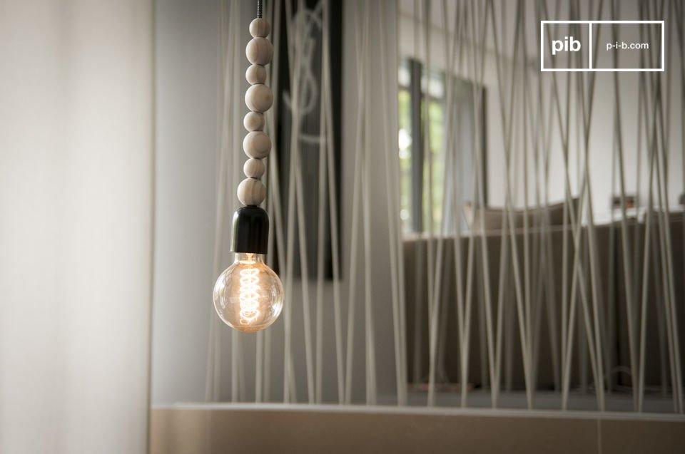Lampada da soffitto in legno Filipïnn