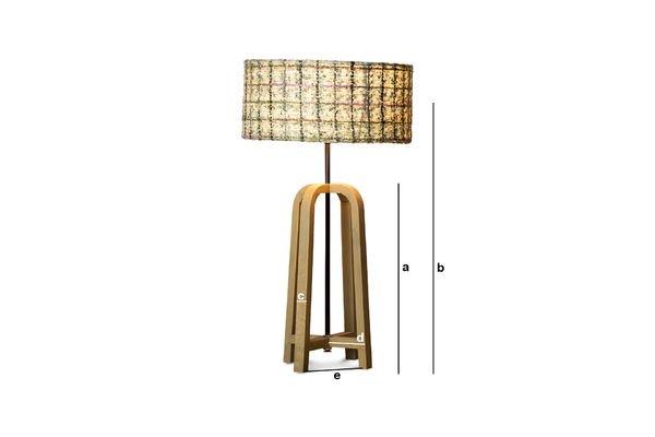 Dimensioni del prodotto Lampada da tavolo Andersen