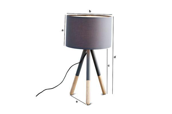 Dimensioni del prodotto Lampada da tavolo Highland