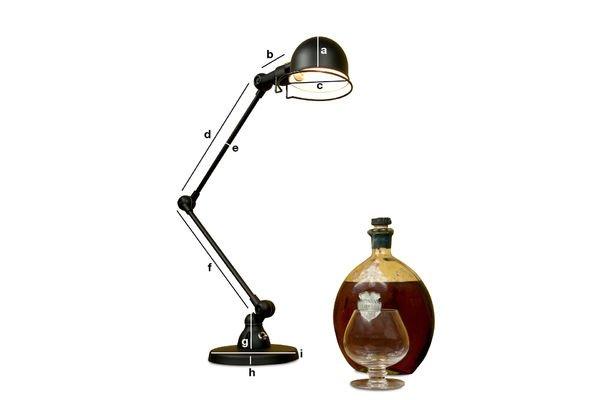 Dimensioni del prodotto Lampada da tavolo Jieldé Signal