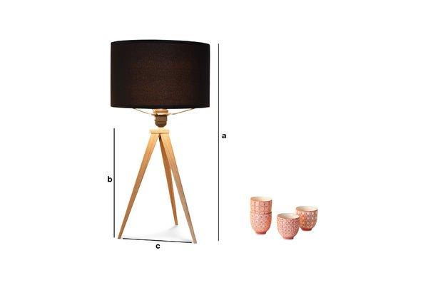 Dimensioni del prodotto Lampada da tavolo Kavinskï