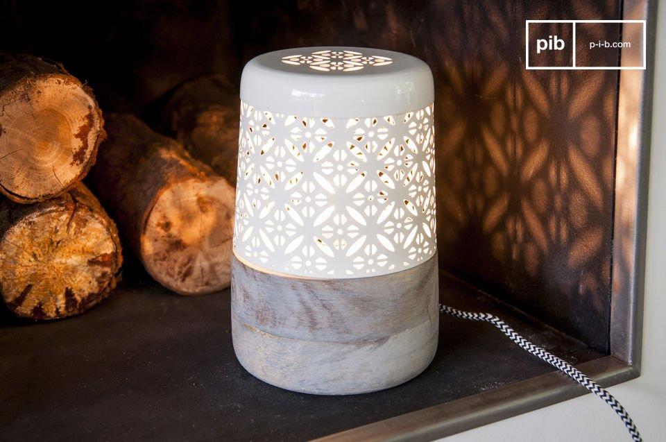 Una bellissima lampada per un perfetto arredamento scandinavo.
