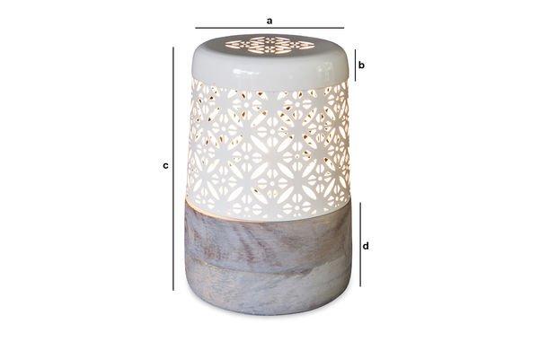 Dimensioni del prodotto Lampada da tavolo Lënie