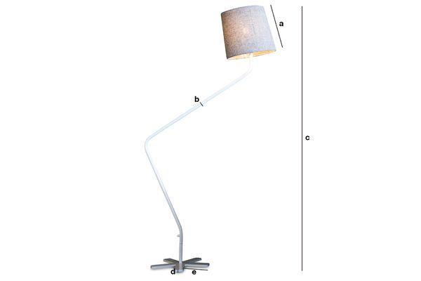 Dimensioni del prodotto Lampada Grogg
