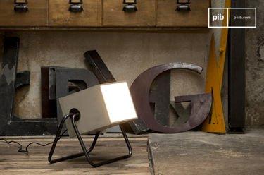 Lampada in cemento