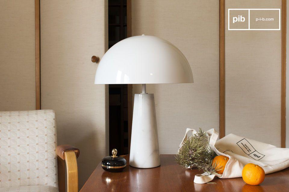 Lampada a fungo in stile vintage per tavolo o scrivania