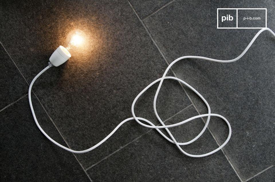 Lampada in porcellana bianca NUD