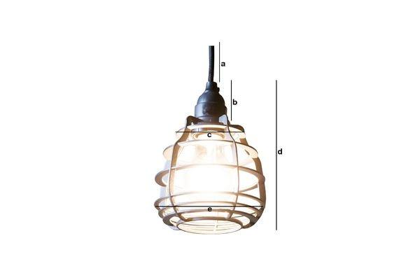 Dimensioni del prodotto Lampada pendente Bristol
