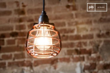 Lampada pendente Bristol in Rame