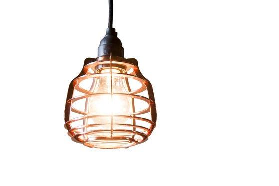 Lampada pendente Bristol in Rame Foto ritagliata