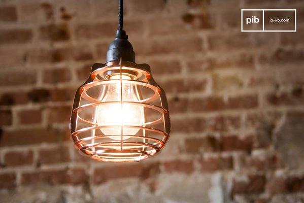 Lampada pendente Bristole in rame