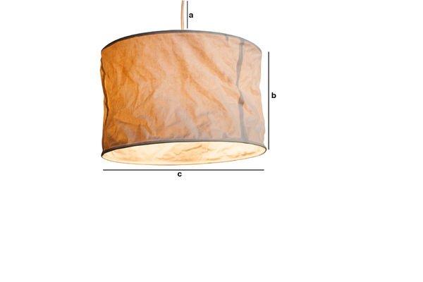 Dimensioni del prodotto Lampada Sospesa Newport
