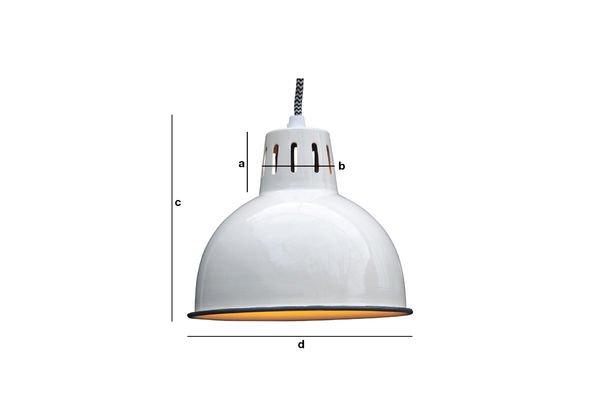Dimensioni del prodotto Lampadario a sospensione Snöl