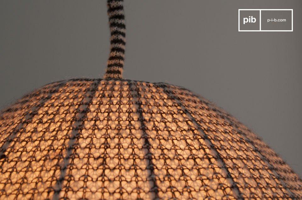 Un lampadario dal tocco nordico
