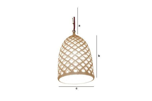 Dimensioni del prodotto Lampadario Hoffen